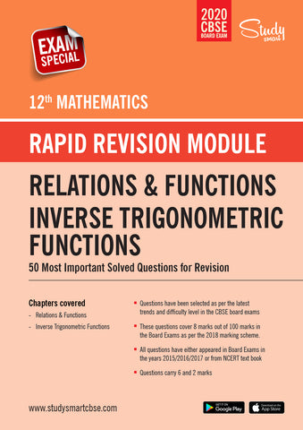 Class 12 Maths  Relations and Functions - Inverse Trigonometric Functions - 50