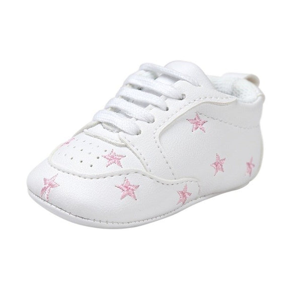 Infant White soft Sneakers