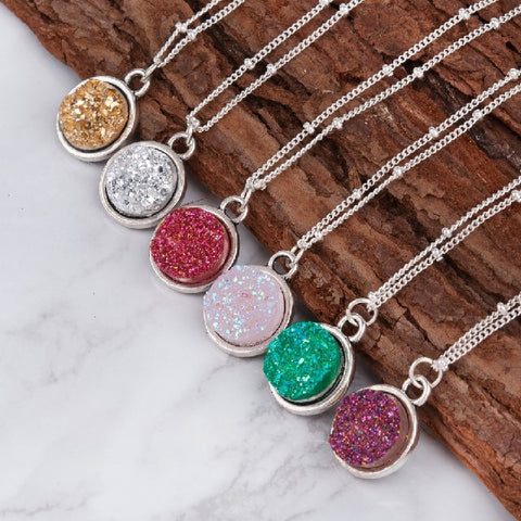 Sparkling Pendant Necklace