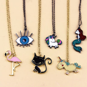 Cartoon Metal Necklace