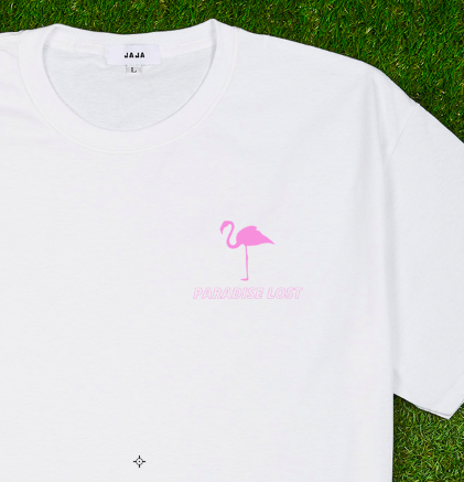 PINK Paradise Lost Logo Tee