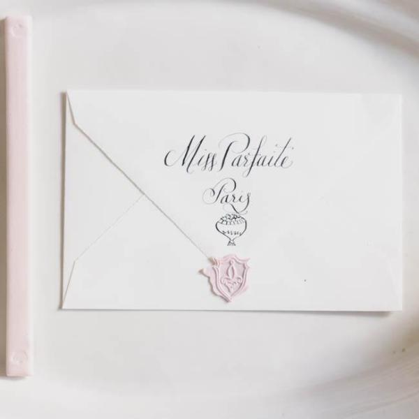 Fleur-de-lis Wax Seal - Miss Parfaite | Luxury Stationery