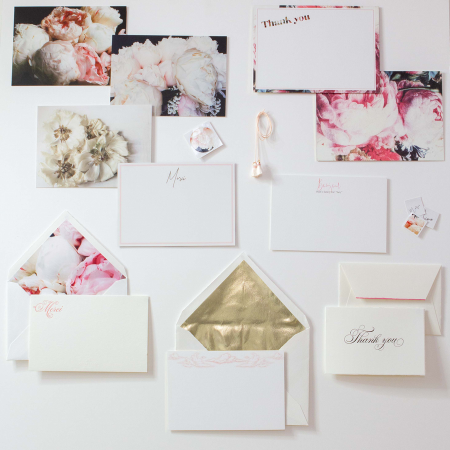 The Mini Bridal Paper Wardrobe - Miss Parfaite | Luxury Stationery