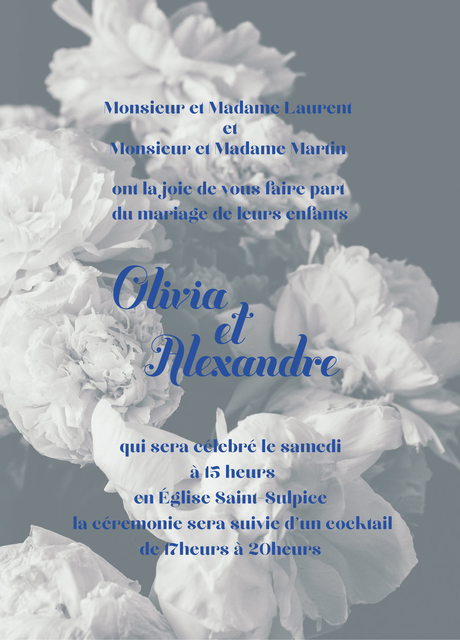 Le Jardin Blanc Proof - Miss Parfaite | Luxury Stationery