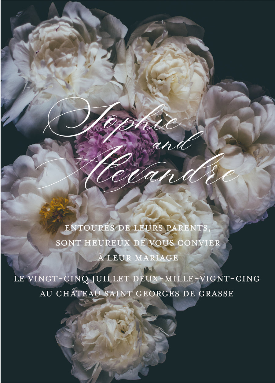 Moody Bloom - Miss Parfaite | Luxury Stationery