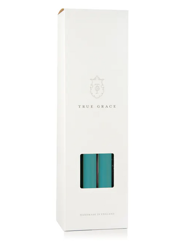 True Grace - TURQUOISE DINING CANDLE - BOUGIE - Miss Parfaite | Luxury Stationery