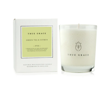 True Grace - CLASSIC CANDLE GREEN TEA & CITRUS - Miss Parfaite | Luxury Stationery