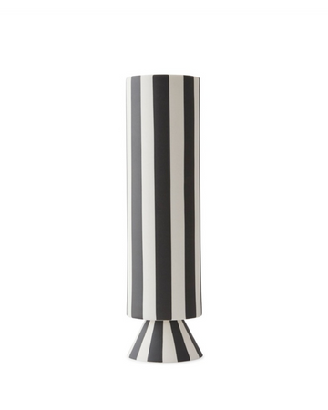 TOPPU VASE - HIGH - WHITE - Miss Parfaite | Luxury Stationery