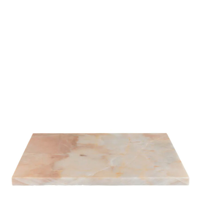 Large Pink Marble Cheese Plate - Miss Parfaite | Luxury Stationery