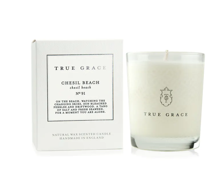 True Grace -CLASSIC CANDLE CHESIL BEACH - Miss Parfaite | Luxury Stationery
