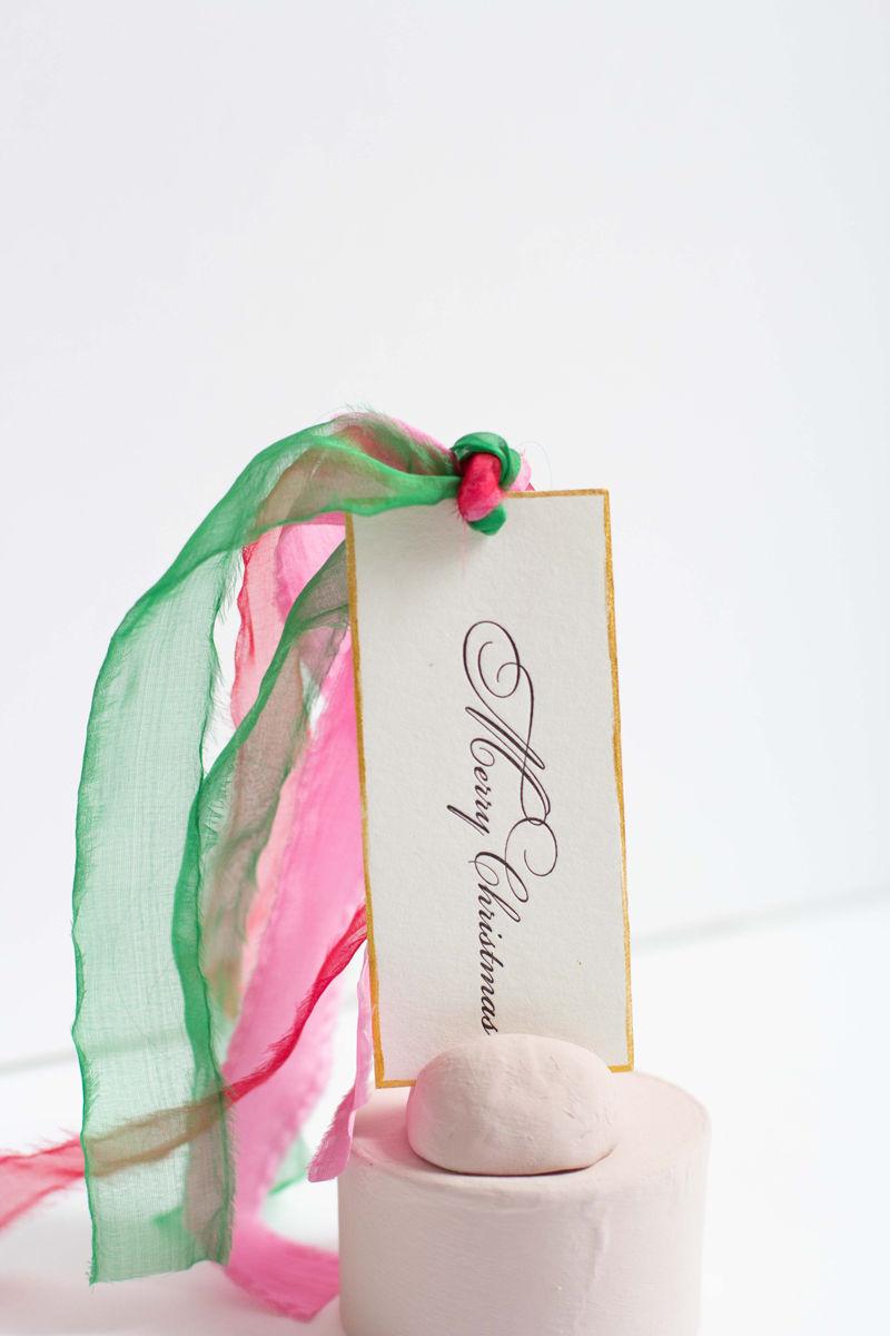 Holiday Luxe Gift Tag