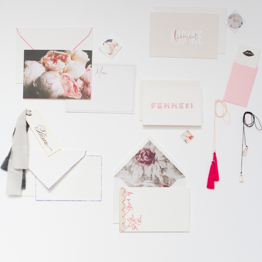 The Frencie Mini Wardrobe - Miss Parfaite | Luxury Stationery