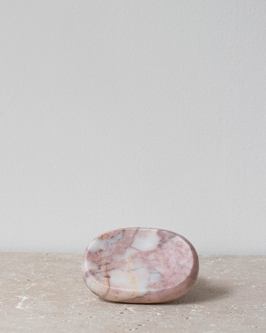 Pink Marble Soap Dish - Miss Parfaite | Luxury Stationery