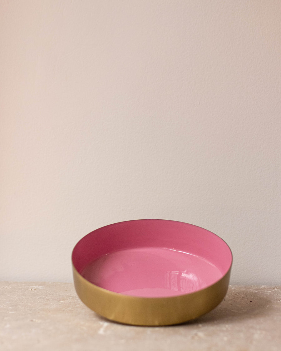 Set of three brass and satin rose bowls - Miss Parfaite | Luxury Stationery