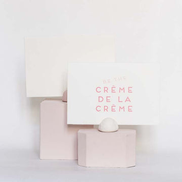 Be The CRÈME DE LA CRÈME - Miss Parfaite | Luxury Stationery