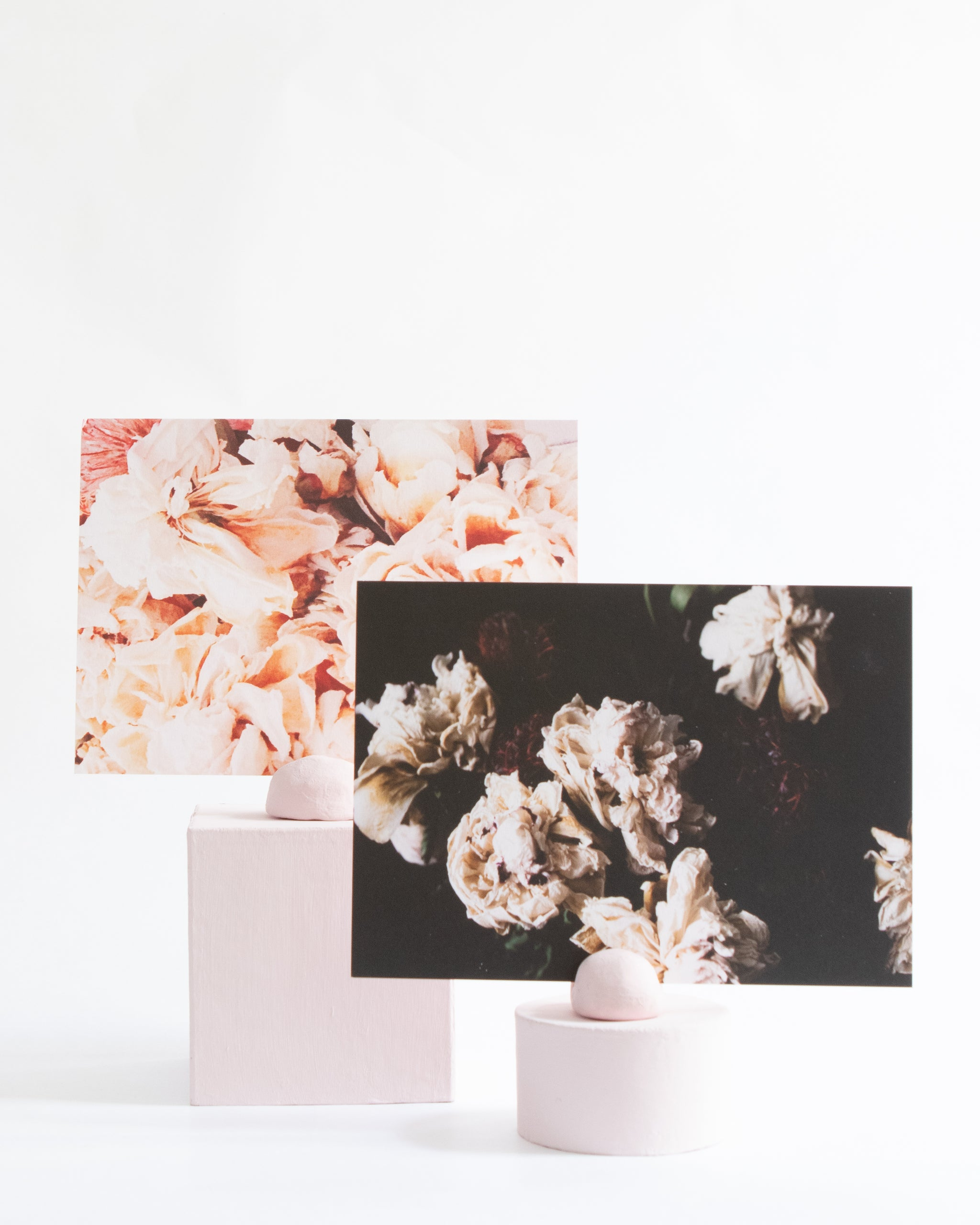 Moody Peony Stationery Duo - Miss Parfaite | Luxury Stationery