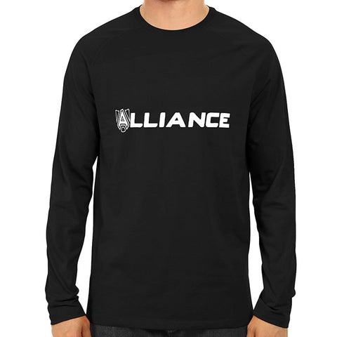 alliance - Black full sleeve-min