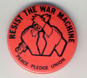Badge: Resist the War Machine