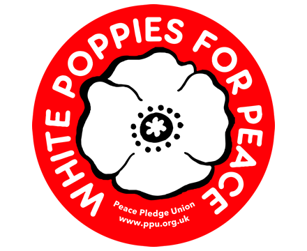 White Poppies for Peace (Stickers x5)