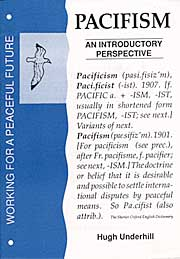 Book: Pacifism