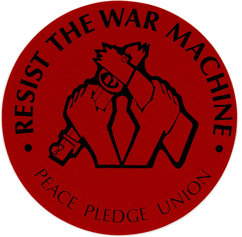 Stickers: Resist The War Machine