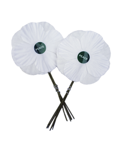 White Poppies top-up pack of 100 (without display box)