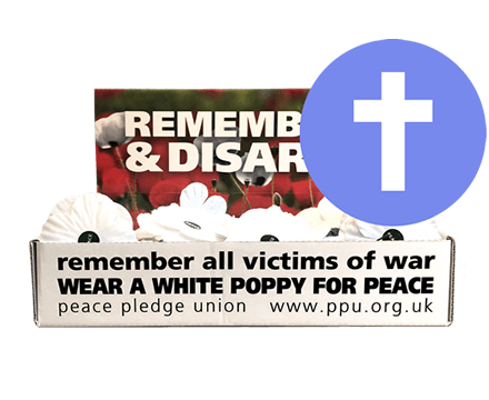 White Poppies Churches Pack (Box of 100 with extra resource)