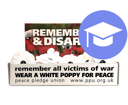 White Poppies Education Pack (Box of 100 with extra materials)