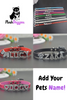 Image of Personalized Bling Dog Collar