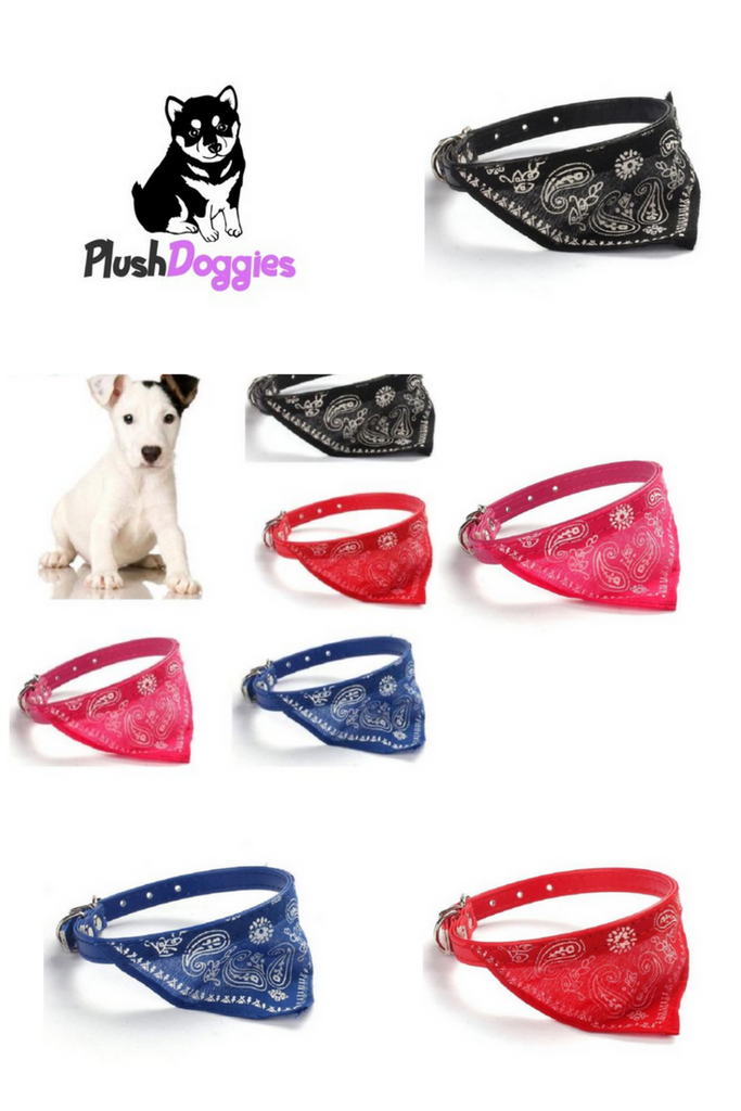 Dog Necktie Collar, - PlushDoggies