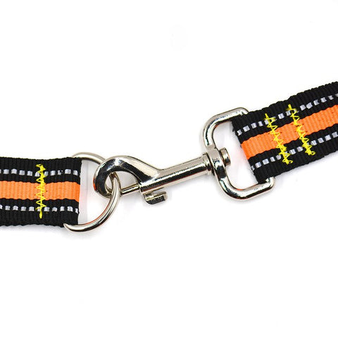 Image of Dog Leash Hand Gripped Night Reflective,Pets - PlushDoggies