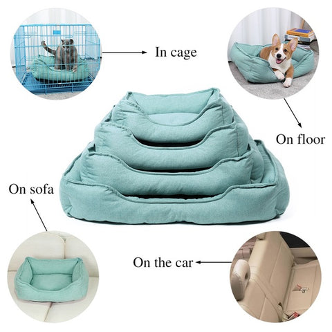 Pet Dog Large Beds Ultra Soft Warm Bed House,Pets - PlushDoggies