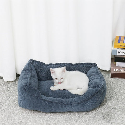 Pet Dog Large Beds Ultra Soft Warm Bed House