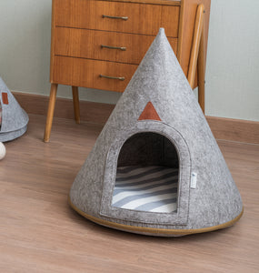 Puppy Pets Cave Shaped Dog Bed,Pets - PlushDoggies