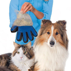 Dog Deshedding Cleaning & Massage Glove