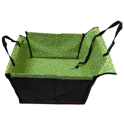 Image of Pet Dog Cat Car Rear Back Seat Carrier Cover, - PlushDoggies