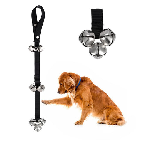 Dog Doorbells for Dog Training And Housebreaking Clicker Training Door Bell, - PlushDoggies