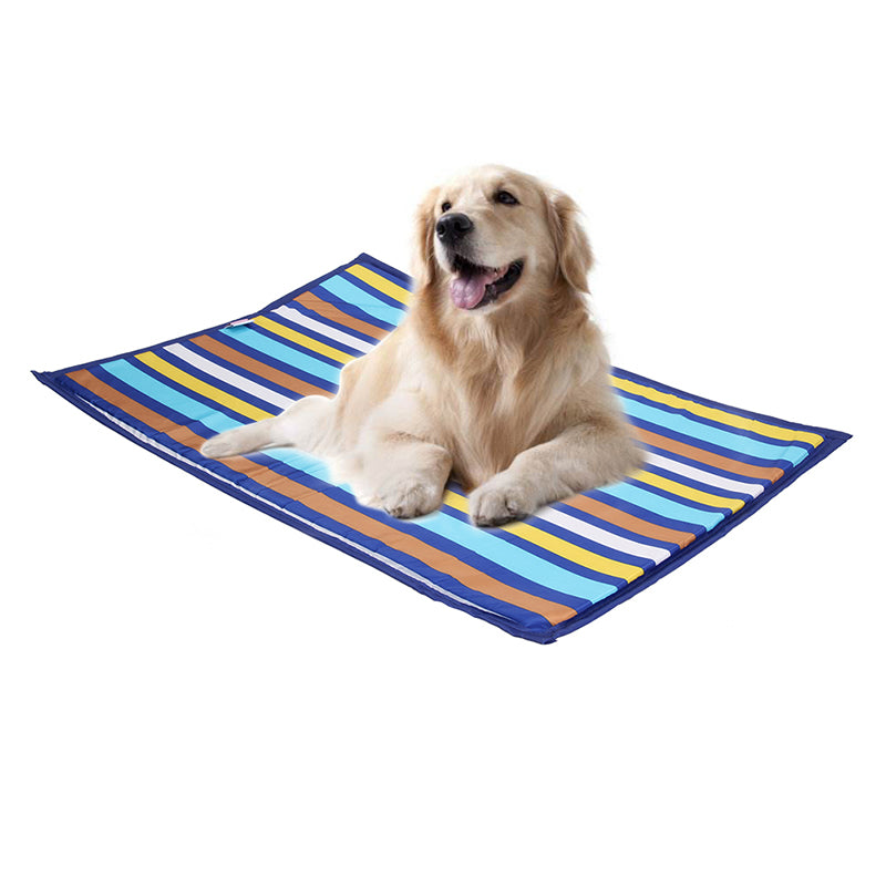 Embroidery Dog Mat Antiskid Cooling Mat, - PlushDoggies
