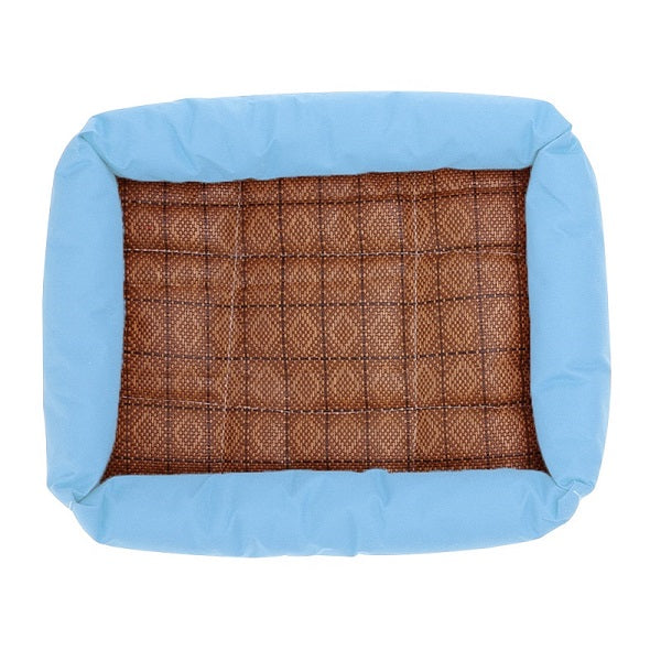 Pet Bamboo Cooling Mat Bed For Dogs, - PlushDoggies