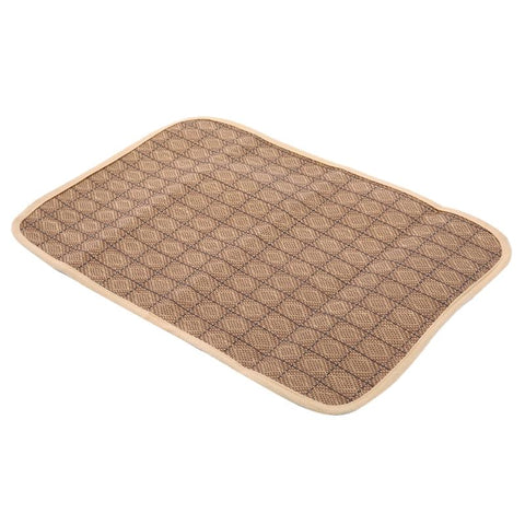 Image of Soft Pet Dog Bed Sofa Detachable Corduroy House, - PlushDoggies