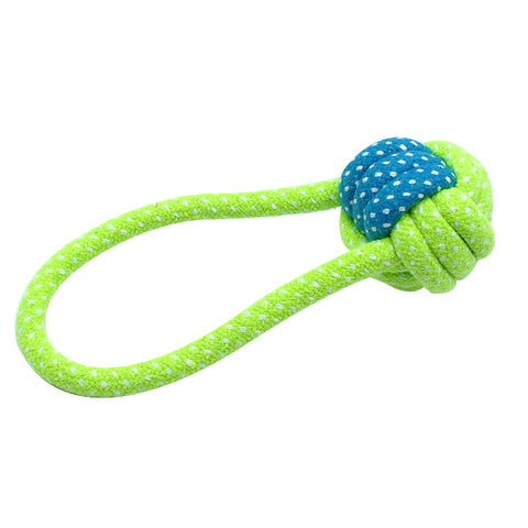 Image of Cotton Dog Rope Toy Set, - PlushDoggies