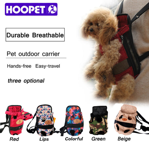 Dog Carrier Fashionable Shoulder Straps Travel Backpack For Pets And Puppies