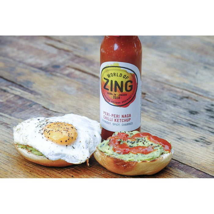 Peri Peri Naga Chilli Ketchup by World of Zing