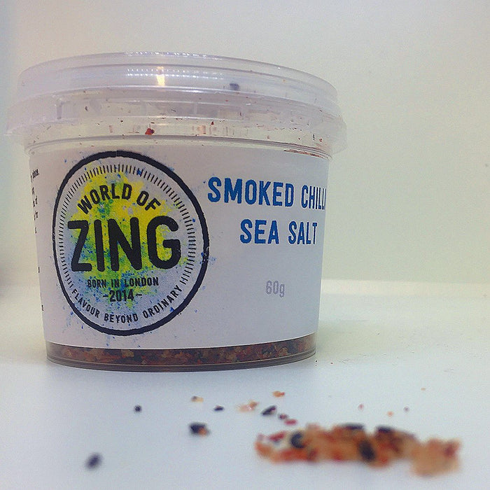 Smoked Chilli Sea Salt