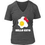 Hello Keto V-neck Shirt