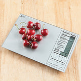 Digital Nutrition Facts Food Scale