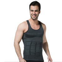 Grey Men's Keto Muscle Sculpting Shirt