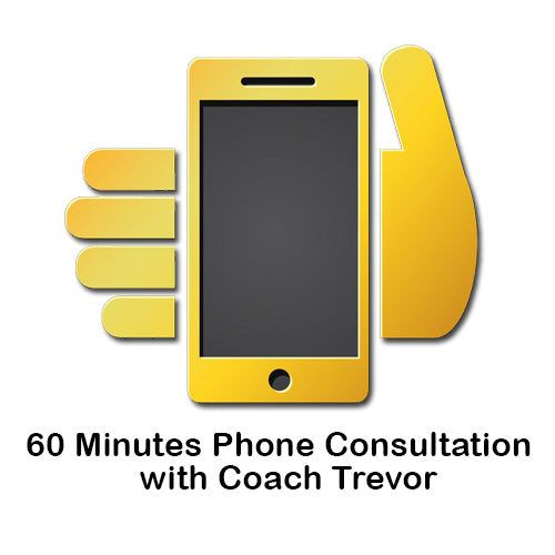 60 Minutes Phone Consultation with Coach Trevor (50% Member Discount)