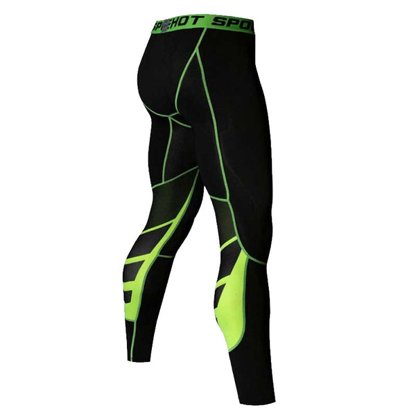 Green line Men's Keto Slim Fit Shaper Pants
