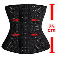 Black Body Shaper and Corset Waist Trainer